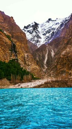 View from Attabad Lake, Hunza, Pakistan