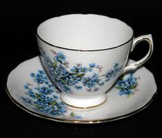 Forget Me Not Teacup
