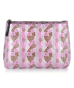 Look at this #zulilyfind! Pink Seaflower Large Cosmetic Bag by Pattern LA #zulilyfinds