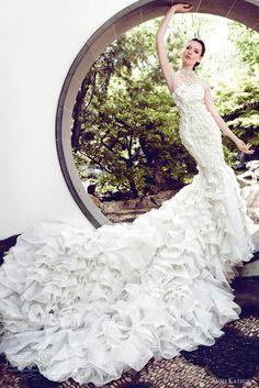 Yumi Katsura #bridal #gown