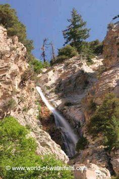 Big Falls (San Bernardino National Forest / Forest Falls, California, USA)