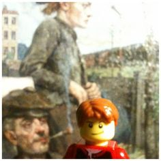 A Painting by Hans Baluschek at the Bröhan-Museum in Berlin. #Lego #Berlintourist