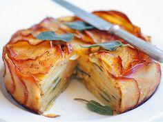 Cheese, Onion and Potato Pie - (Free Recipe below)