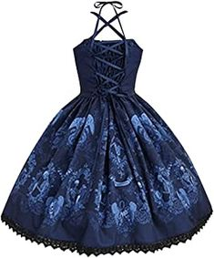 lady sexy a dress: Beauty Punk Fashion, Womens Fashion, Blue Party Dress, Gothic, Red Midi Dress, Skull Print, Elegant Dresses, Lady, Vintage