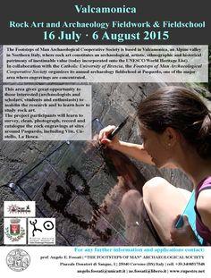 Join us this year! #rock art #prehistoric #art #Valcamonica #archaeology #field #work #field #school #Italy #summer #petroglyph