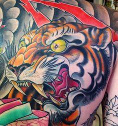 Asian tiger tattoo style #tattoo #tiger #kysa
