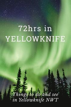 Things to do and see in Yellowknife, Northwest Territories, Canada! Get inspired from this stunning photography and plan your own trip! Northern Lights Canada, Northern Lights Trips, Canada Travel, Travel Usa, Canada Trip, Canada North, Canada Eh, Yellowknife Canada, Pretty Landscapes