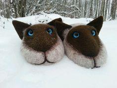 Купить Сиамские коты - оригинальный подарок, подарок на новый год, подарок подруге, подарок ребенку, коты