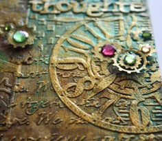 Such a Pretty Mess: VIDEO TUTORIAL: Steampunk Journal Cover {Cheery Lynn Designs}