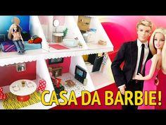 Tour pela Casa da Barbie que eu fiz! - YouTube
