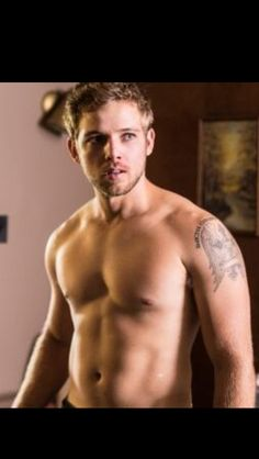 Max Thieriot. He literally has the perfect body. Hes got abs, v lines, and definition, but he not impossibly built and would still be perfect to cuddle with cuz he has meat on his bones. I seriously can't get over it.