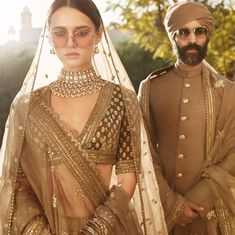Sabyasachi Spring Summer 2019 collection just launched yesterday, and I have every single picture in this post for you. Lots of lehengas, sarees & more. Sabyasachi Lehenga Bridal, Lehenga Choli, Lehnga Dress, Lehenga Blouse, Bollywood Saree, Bollywood Fashion, Sari, Dress Indian Style, Indian Dresses