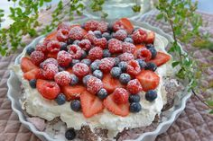 Acai Bowl, Raspberry, Baking, Fruit, Breakfast, Food, Patisserie, Bakken, Raspberries