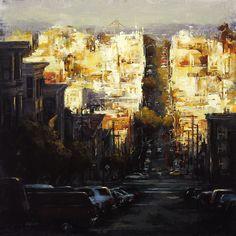 Lindsey Kustusch | Cityscape painter | Tutt'Art@ | Pittura • Scultura • Poesia • Musica