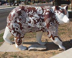 Cherokee Indian Art | Cherokee Art Bears - Roadside Wonders