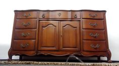 A personal favorite from my Etsy shop https://www.etsy.com/listing/212871744/vintage-french-provincial-buffet-dresser