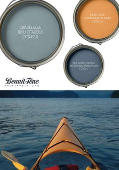 Relax in the calm of #BeautiTone's cool blue & hot sunny hues, a Beauti-ful soulful palette to #paint any room!