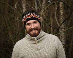 Ravelry: Lurifakspannebånd pattern by Trude Bentsop Needles Sizes, Ravelry, Men Sweater, Knitting, Pattern, Tricot, Breien, Men's Knits, Knitting And Crocheting