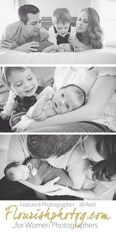 Flourish Featured Photographer Jill Reid | Newborn Lifestyle Session