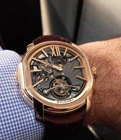 Bvlgari #watchgeek #watchmania #lux #bvlgari #relojes #fashion #men #luxurywatches