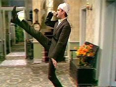 Basil's famous walk  #fawltytowers