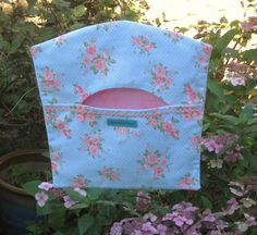 Rosie Posie Peg Bag Clothes Peg Bag Shabby by FromeRiverStudios Peg Bag, Clothes Pegs, Studios, Lunch Box, Shabby, River, Trending Outfits, Unique Jewelry, Handmade Gifts