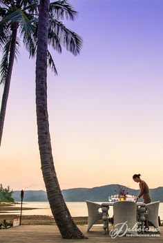 Dinner under the stars Paradise Bay Resort Whitsundays | via ledelicieux.com