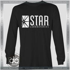 Buy Tshirt Long Sleeve Star Labs The Flash Tshirt Womens Tshirt Mens