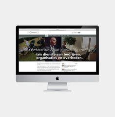 Comm2b - Website realisatie - Communicatie en reclamebureau 2design Roeselare - Grafisch ontwerp, webdesign en apps - Website