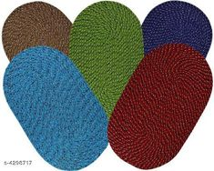 Doormats & Bath Mats Stylish Cotton Door Mats Material: Cotton Multipack: 5 Sizes: Free Size (Length Size: 53 cm Width Size: 33 cm) Country of Origin: India Sizes Available: Free Size   Catalog Rating: ★4.1 (2908)  Catalog Name: Free Mask Graceful Versatile Cotton Doormats CatalogID_616218 C55-SC1118 Code: 552-4298717-
