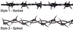 Styles Of Barbed Wire Tattoo For You To Choose Or Spiked