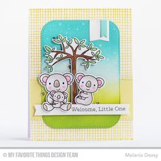 Hi all! I want to share my card for My Favorite Things  Wednesday Sketch Challenge 327 . The sketch is fun and challenging! I'm so happy if ...
