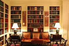 Library at the White House, Washington DC, USA