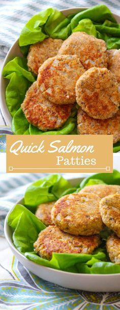 Salmon patties | canned salmon | pink salmon | How to use canned... baked even better salmon | Quick dinner recipe | Easy salmon patty recipe