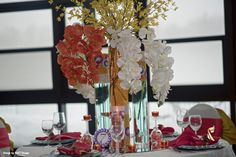 Event Decor, Afro, Bloom, Candles, Make It Yourself, Table Decorations, Contemporary, How To Make, Wedding