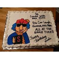 Maxine Quotes Maxine Birthday Cake 11x15 Graphics