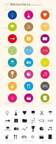 Web Icon Set & pictograms #2