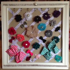 DIY - Hair Bow Holder