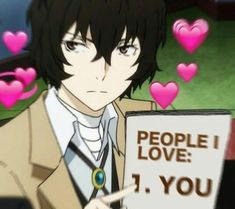Dazai Bungou Stray Dogs, Stray Dogs Anime, Howl's Moving Castle, Anime Meme Face, Heart Meme, Loli Kawaii, Cute Love Memes, Anime Expressions, Another Anime