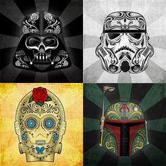 star wars de las Muertos