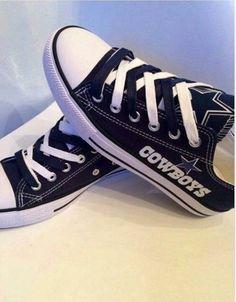 9fa94c8285c5 Custom Dallas Cowboys Converse with logo applique by MizMaryMacks