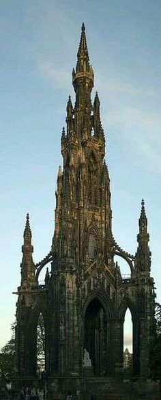 Awesome Sir Walter Scott Monument #Edinburgh #Scotland