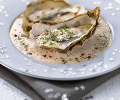 Maison Baumont vous suggère les Huîtres à la crème de truffe, avec astuce Lignac Truffes Maison Baumont http://www.maisonbaumont.fr/
