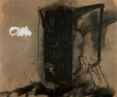Antoni Tapies |Porta de materia