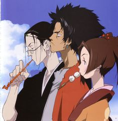 Samurai Champloo! Coolest people you will ever meet ;)