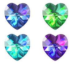 """Realistic Heart Crystal Vector Set, done in via Illustrator. Created it as practice using tools in the software. It's also a """"Free to Use but Credit Back"""" Resource. Vector Art, Objects, Deviantart, Crystals, Create, Heart, Drawings, Illustration, Artist"""