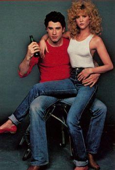 be who you desire — john travolta + nancy allen, Nancy Allen, Image Film, Actor John, Retro Pop, Retro Vintage, Olivia Newton John, The Best Films, John Travolta, Badass Women