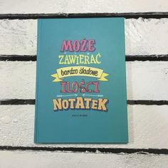 "Śmieszne zeszyty ""Może zawierać bardzo śladowe ilości notatek"" Book Of Life, Good Vibes Only, Cos, Positive Vibes, Back To School, Texts, Books To Read, Challenges, Positivity"