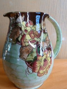 From the 1930s Grimwades (Royal Winton) Art Deco Luster ware jug.