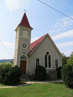 Trinity Methodist Church in Paris, Virginia